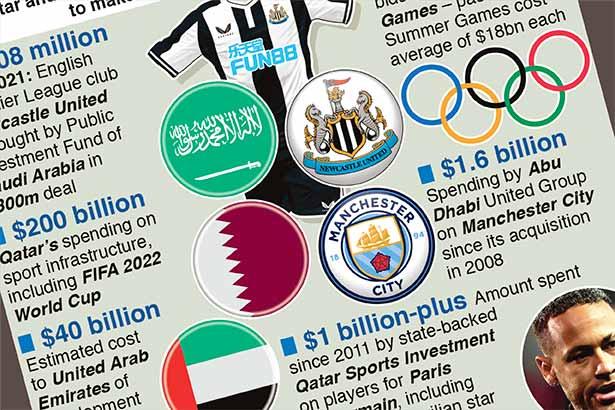 Saudi wealth fund buys Newcastle United