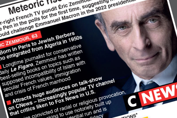 The meteoric rise of Éric Zemmour