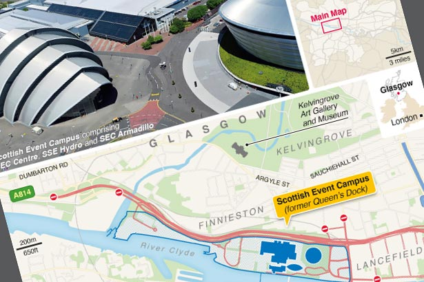 Glasgow locks down for world leaders' climate summit