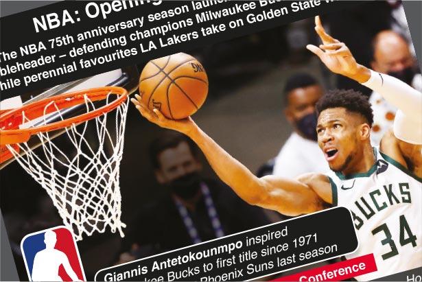 Oct 19-Jun 2: NBA Opening Night 2021-22
