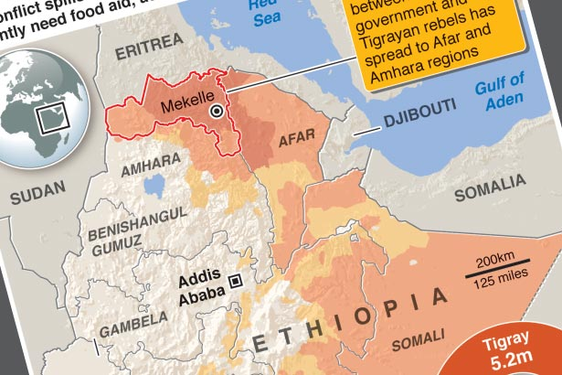 Aid crisis looms in Ethiopia's war-torn Tigray